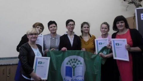 Wyniki oceny aplikacji o certyfikat Zielonej Flagi i Lokalnego Centrum Aktywności Ekologicznej za rok szkolny 2015/16