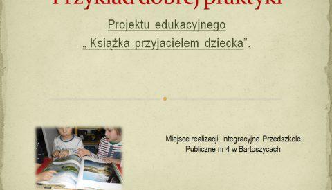 Książka przyjacielem dziecka