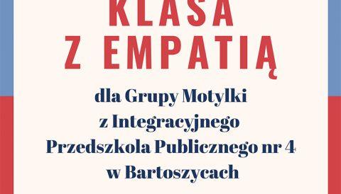 """Certyfikat dla grupy """"Motylki"""""""